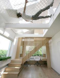 מהתקרה 09, ערסל בתקרה היוצר אזור מנוחה