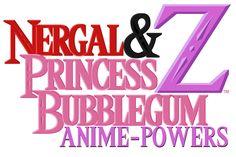 Nergal And Princess Bubblegum Anime Powers Z Logo Cartoon Network HD 2017 Art By Nathaniel