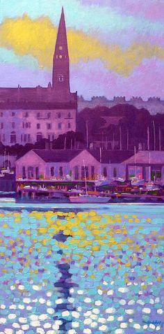 Dun Laoghaire Harbour Dublin Ireland by John Nolan