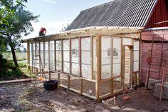 Så bygger du ett växthus av gamla fönster - Sydsvenskan