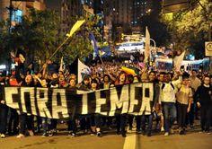 G.H.: Fora Temer: Manifestantes sairão às ruas nesta ter...
