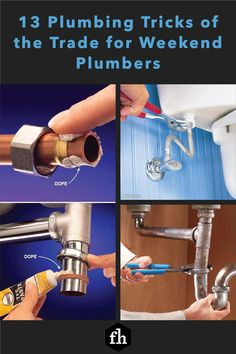 One way to manage the frustrations and achieve a successful plumbing project is to allow plenty of time-at least twice as much time as you think the project should take.