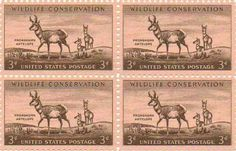Pronghorn Antelope Set of 4 X 3 Cent Us Postage Stamps Scot #1078a by U.S. Mail. $6.99. Pronghorn Antelope Set of 4 X 3 Cent Us Postage Stamps Scot #1078a