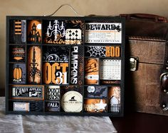 Really need to order this kit for the 7 Gypsies Letterblock tray. Great Halloween decor.