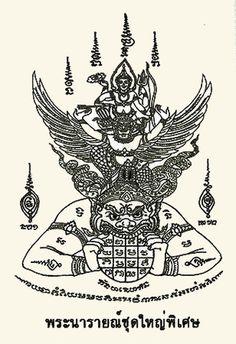Sak Yant tattoos-Hanuman