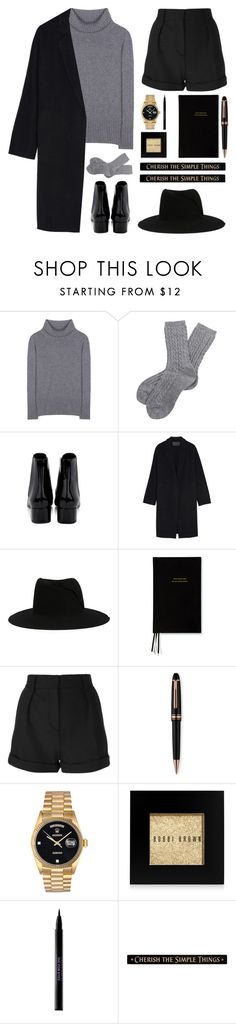 """""""#31"""" by yasyami ❤ liked on Polyvore featuring Dolce&Gabbana, Barbour, Yves Saint Laurent, Donna Karan, Maison Michel, Kate Spade, IRO, Montblanc, Rolex and Bobbi Brown Cosmetics"""