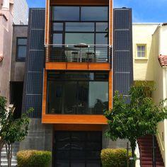 Modern home w/ solar panels, San Francisco, CA (the marina)