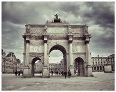 Paris France Photograph -8 x 10 Parisian Architect-Home-Louvre Musee-DecorTravel France Architecture- Archway To Louvre-Fine Art Paris Photo $15.00
