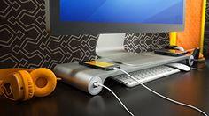 Space Bar Keyboard Organizer & USB Hub