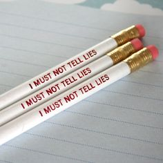 I must not tell lies, Professor. Yesss Harry Potter pencils :D Harry James Potter, Harry Potter Diy, Harry Potter Birthday, Harry Potter Accessories, Harry Potter Aesthetic, Ginny Weasley, Mischief Managed, Pretty Little Liars, Pencil