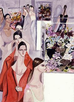 Modeconnect.com - Fashion Illustration by Jil Sander FW 12 by jiiakuann