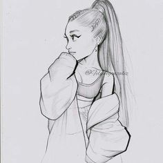 did this lil cartoon of ari yesterday, Im not fe. - I did this lil cartoon of ari yesterday, Im not fe. - I did this lil cartoon of ari yesterday, Im not fe. Girl Drawing Sketches, Girly Drawings, Art Drawings Sketches Simple, Pencil Art Drawings, Beautiful Drawings, Cartoon Drawings, Tumblr Drawings, Girl Sketch, Cute Drawings Of Girls