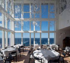 Un hôtel sur l'île canadienne de Fogo