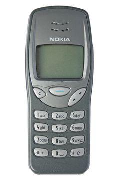 6. Nokia 3210. Móvil muy famoso y que se vendió mucho. La pantalla era grande (con varias líneas de texto) pero en blanco y negro todavía. Era bastante pesado.