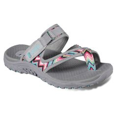da9d1e0e193a Skechers Reggae Zig Swig Women s Sandals Skechers Relaxed Fit
