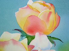 do watercolor flowers 5 photo