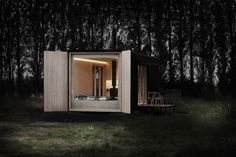 Escape city life in a luxe off-grid cabin that can pop up almost anywhere | Inhabitat - Green Design, Innovation, Architecture, Green Building