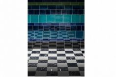 Using tiles of different sizes Victorian Tiles, Feature Tiles, Ceramics, Gallery, Garden, Projects, House, Ceramica, Log Projects