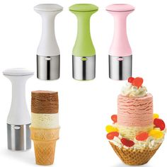 genius - Scoop and Stack Ice Cream Scoop $9.99