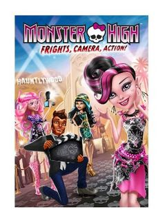 Monster High: Frights, Camera, Action! (DVD)