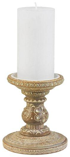 Stilvoller Kerzenhalter mit Orientalischem Muster Spirit Of Summer, Pillar Candles, Candle Holders, Oriental Pattern, Lighting, Hang In There, Porta Velas, Taper Candles, Candles