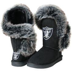Oakland Raiders Cuce Women's Champions Boots – Black