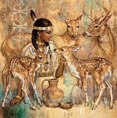 Karl Bang also here Karl Bang's collection of art masterpieces could easily be called Goddess Central. Native American Wisdom, Native American Artwork, American Indian Art, American Indians, Native Indian, Native Art, Art Indien, Eskimo, Pretty Art