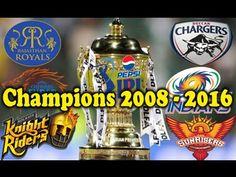 IPL Winners List ○ IPL Champions List From 2008 To 2017 - Sports Gallery 4U