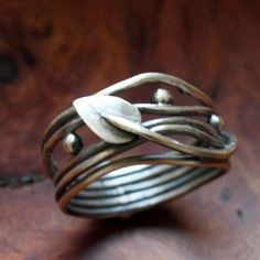 Elven ring sterling silver