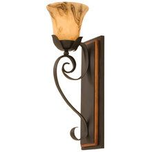 View the Kalco 4911 1 Light Bathroom Fixture from the Astor Collection at LightingDirect.com.