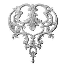 Restorers Architectural Kinsley Ornate Urethane Onlay Applique