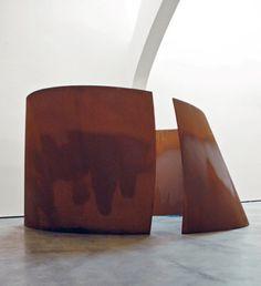 Torqued Ellipse | Richard Serra | 2003-2004 | weathering steel | 4.27 × 8.31 × 8.84 m || #sculpture