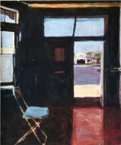 Interior with View of Buildings  - Richard Diebenkorn