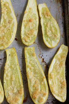 Roasted Summer Squash - this is easy and everyone and your family will beg for more. Can't miss!