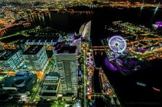 Yokohama by night 2 | Discovered from Dream Afar New Tab