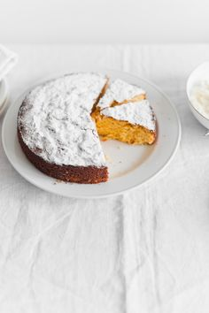 Lovely citrus polenta cake recipe , great with coffee or as dessert at informal suppers with friends