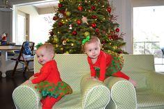 Twin Christmas Pics
