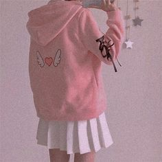Peach Aesthetic, Aesthetic Girl, Aesthetic Clothes, Pink Fashion, Cute Fashion, Asian Fashion, Cute Pink, Pretty In Pink, Looks Kawaii