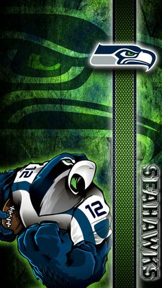 I love my local sports teams: The Seattle Seahawks.