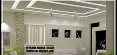 False ceiling pop designs LED ceiling lighting ideas 2014