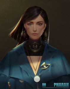 Pharah, by Yi Sui. Dnd Characters, Fantasy Characters, Female Characters, Character Concept, Character Art, Concept Art, Character Ideas, Fantasy Women, Fantasy Girl
