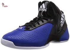 adidas Nxt LVL SPD V, Chaussures de Basketball Homme, Multicolore (FTWR White/Collegiate Royal/Core Black), 44 EU