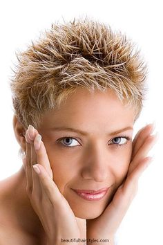 The best hairstyles for women over 50 jamie lee pixie haircut and at excellent hair painting. Sway hair trend as to short spiky hairstyles for women over 60 trend hairstyle and. Short spiky haircuts for fine hair in accordance with dying hair stylist. Short Hairstyles 2015, Very Short Haircuts, Female Hairstyles, Pixie Hairstyles, 1920s Hairstyles, Wavy Haircuts, Hairstyle Short, Latest Hairstyles, Punk Pixie Haircut