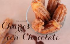 Recipe: Churros Con Chocolate | The Daily Dose