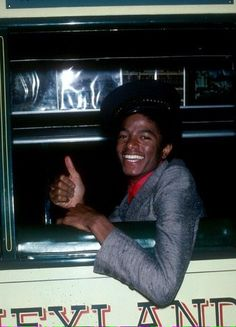"Michael Jackson is the conductor ""All aboard"""
