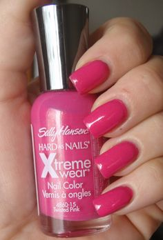 Sally Hansen Xtreme Wear - Twisted Pink. This stuff stays on and the color screams Casey.