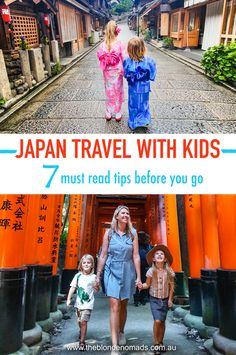 Japan is a wonderful destination to travel with kids. We share our MUST READ tips to help you plan and get the most out of your Japan family adventure. Family Vacation Destinations, Amazing Destinations, Vacation Trips, Travel Destinations, Vacations, Japan Travel Tips, Asia Travel, Travel Ideas, Travel Advice