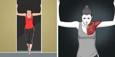 * 9 nyújtógyakorlat, ami felér egy masszázzsal Awesome Great 9 nyújtógyakorlat, am. Upper Back Stretches, Back Stretching, Stretching Exercises, Chest Muscles, Core Muscles, Back Muscles, Dor Cervical, Sternocleidomastoid Muscle, Upper Body
