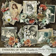 Thinking Of You - Clusters by Manuela