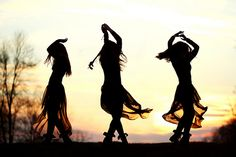 When you hear the music; you dance; you liberate your soul.